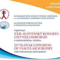 XXII. Slovenský kongres cievnej chirurgie s medzinárodnou účasťou